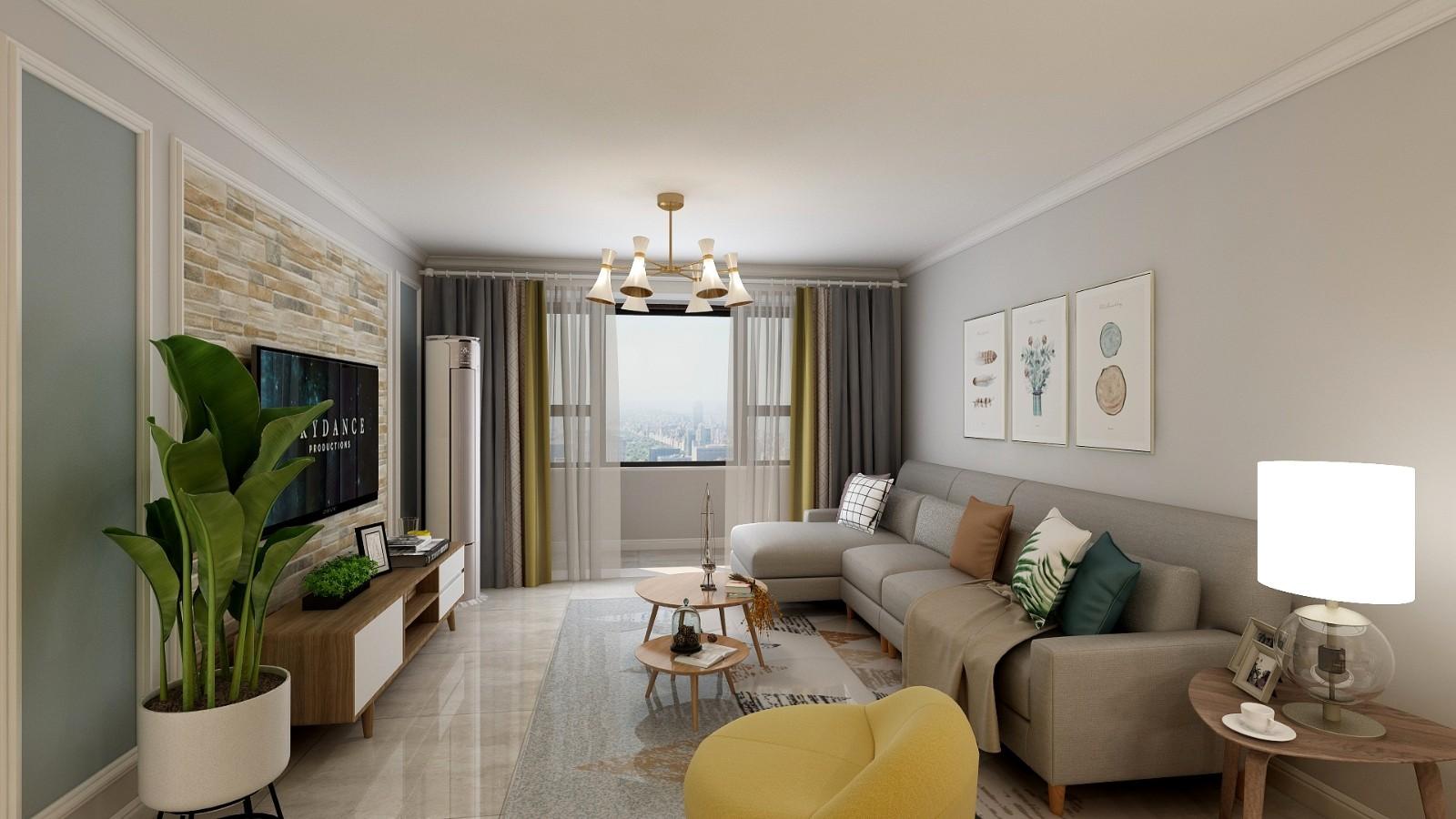 2020北欧110平米装修设计 2020北欧楼房图片