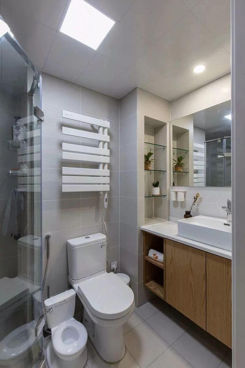 2020日式衛生間裝修圖片 2020日式淋浴房裝修設計圖片