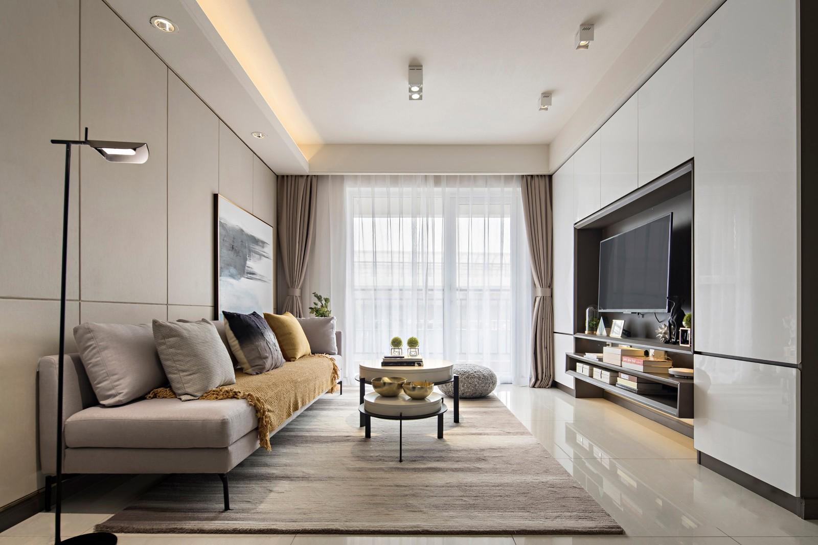3室2卫2厅123平米现代风格
