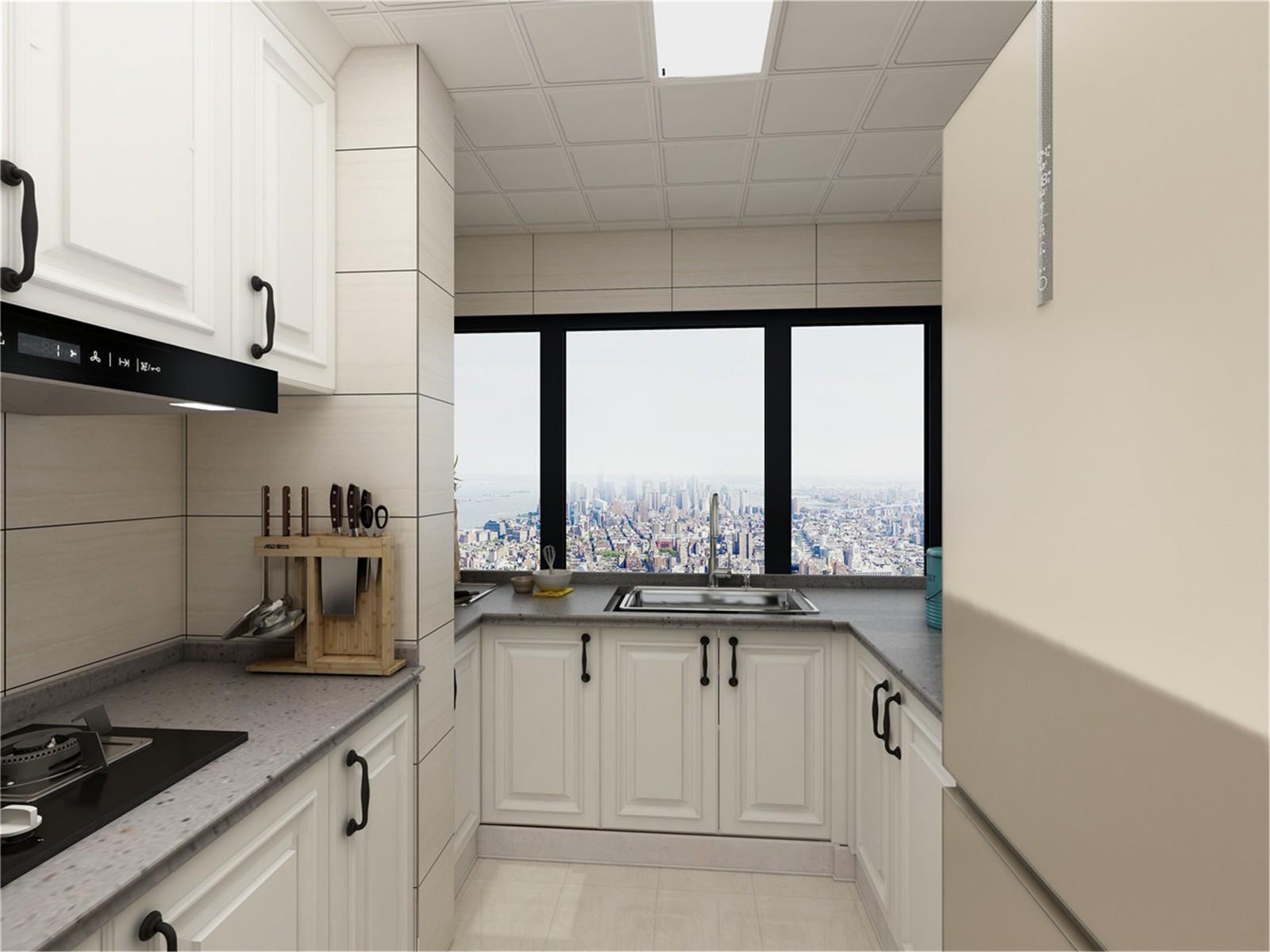 2020经典厨房装修图 2020经典橱柜装修效果图片