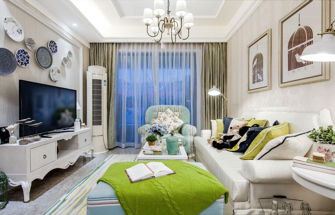 2020歐式田園90平米裝飾設計 2020歐式田園公寓裝修設計