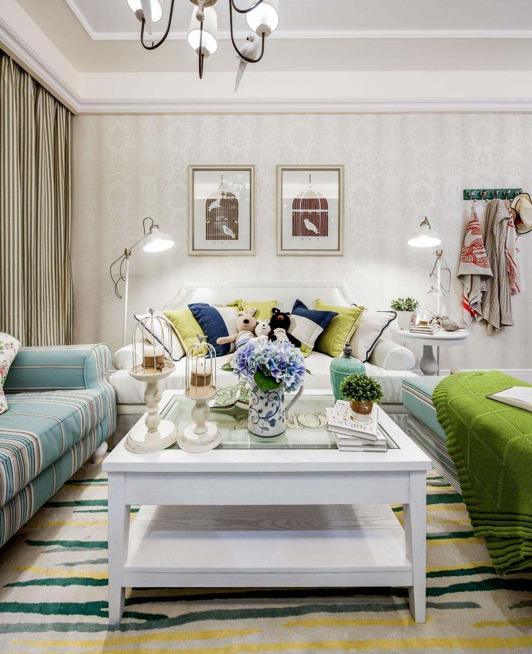 2019欧式田园客厅装修设计 2019欧式田园沙发装修设计