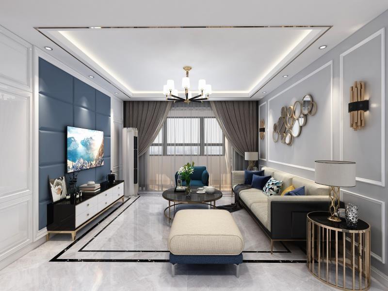 3室1卫2厅110平米现代风格