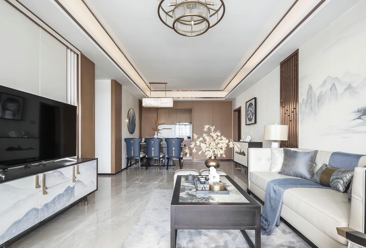 4室2卫2厅139平米新中式风格
