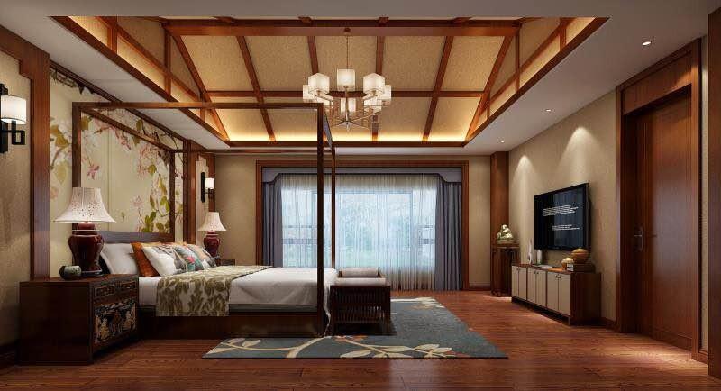 2020欧式田园卧室装修设计图片 2020欧式田园阁楼装修效果图片