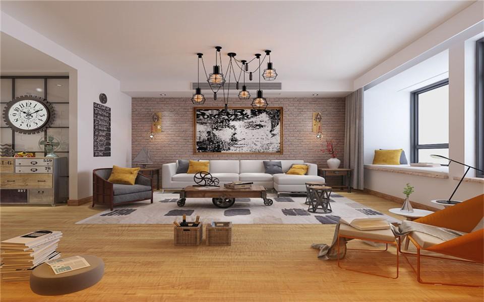 2019工业客厅装修设计 2019工业沙发装修设计