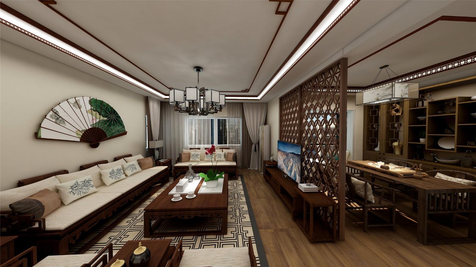3室1卫2厅新古典风格