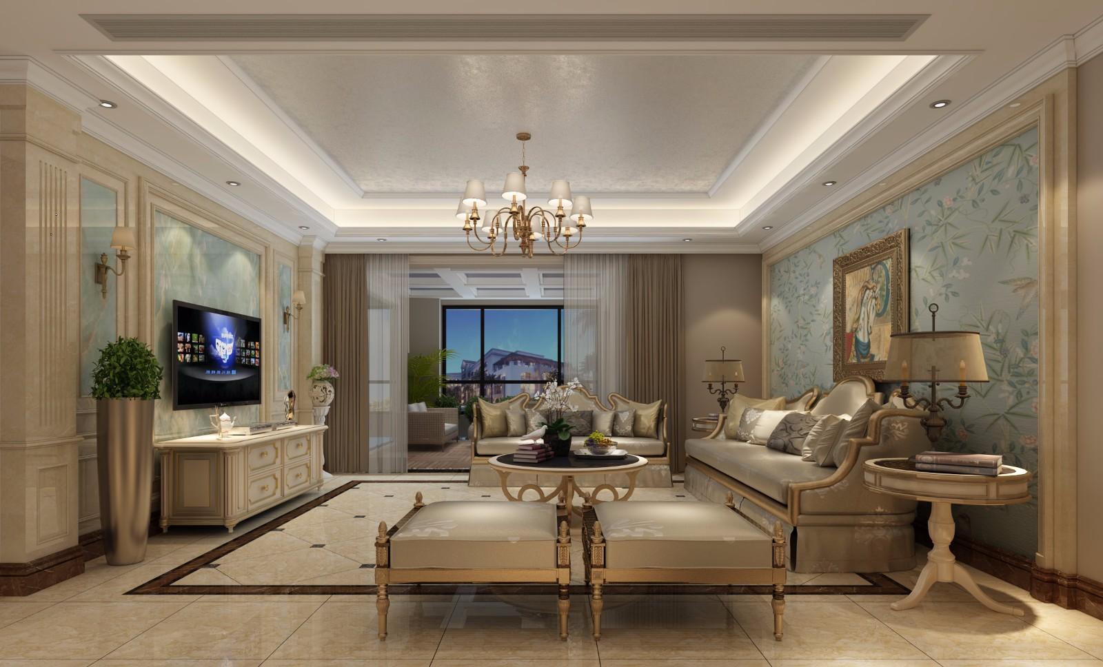 2020現代歐式240平米裝修圖片 2020現代歐式別墅裝飾設計