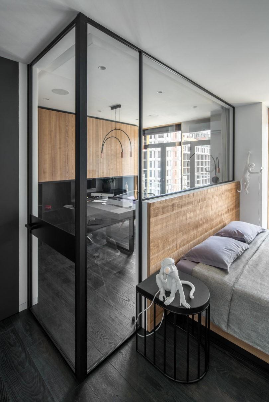 简约风格136平公寓装修效果图