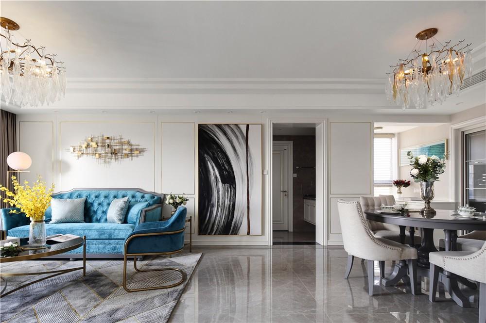 2020簡中90平米裝飾設計 2020簡中套房設計圖片