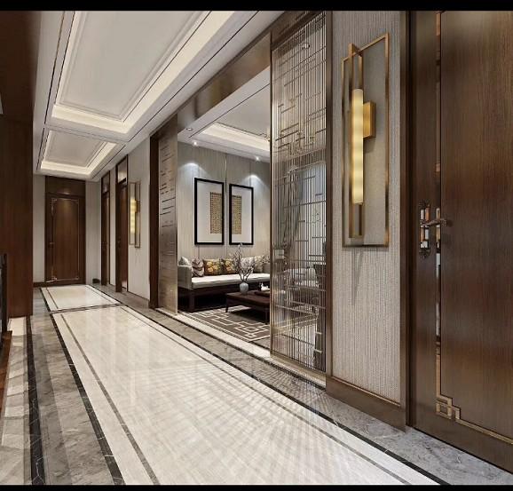 2020中式阳光房设计图片 2020中式吧台装修设计