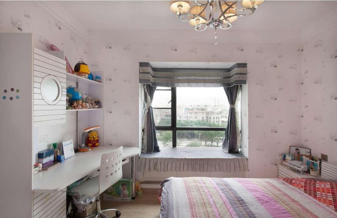 海倫國際138平現代簡約大戶型臥室效果圖