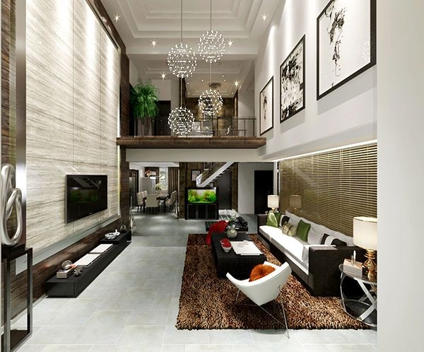 2021简约240平米装修图片 2021简约别墅装饰设计