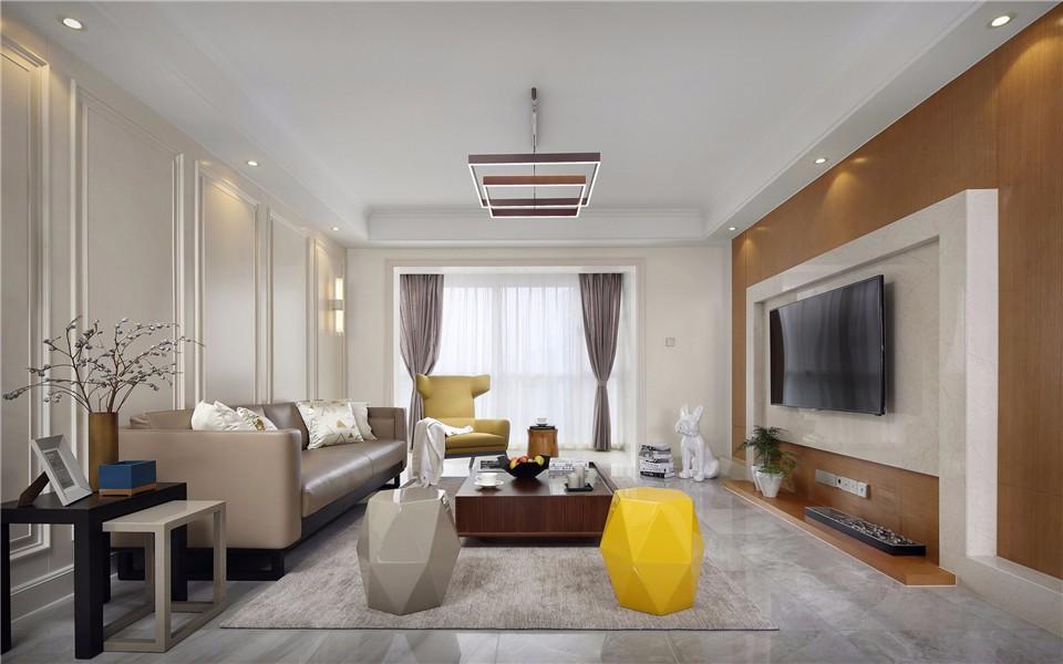 3室1卫1厅现代风格