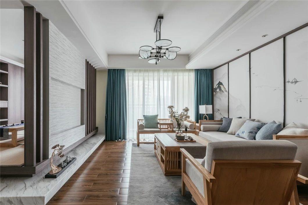 2室2卫2厅130平米中式风格
