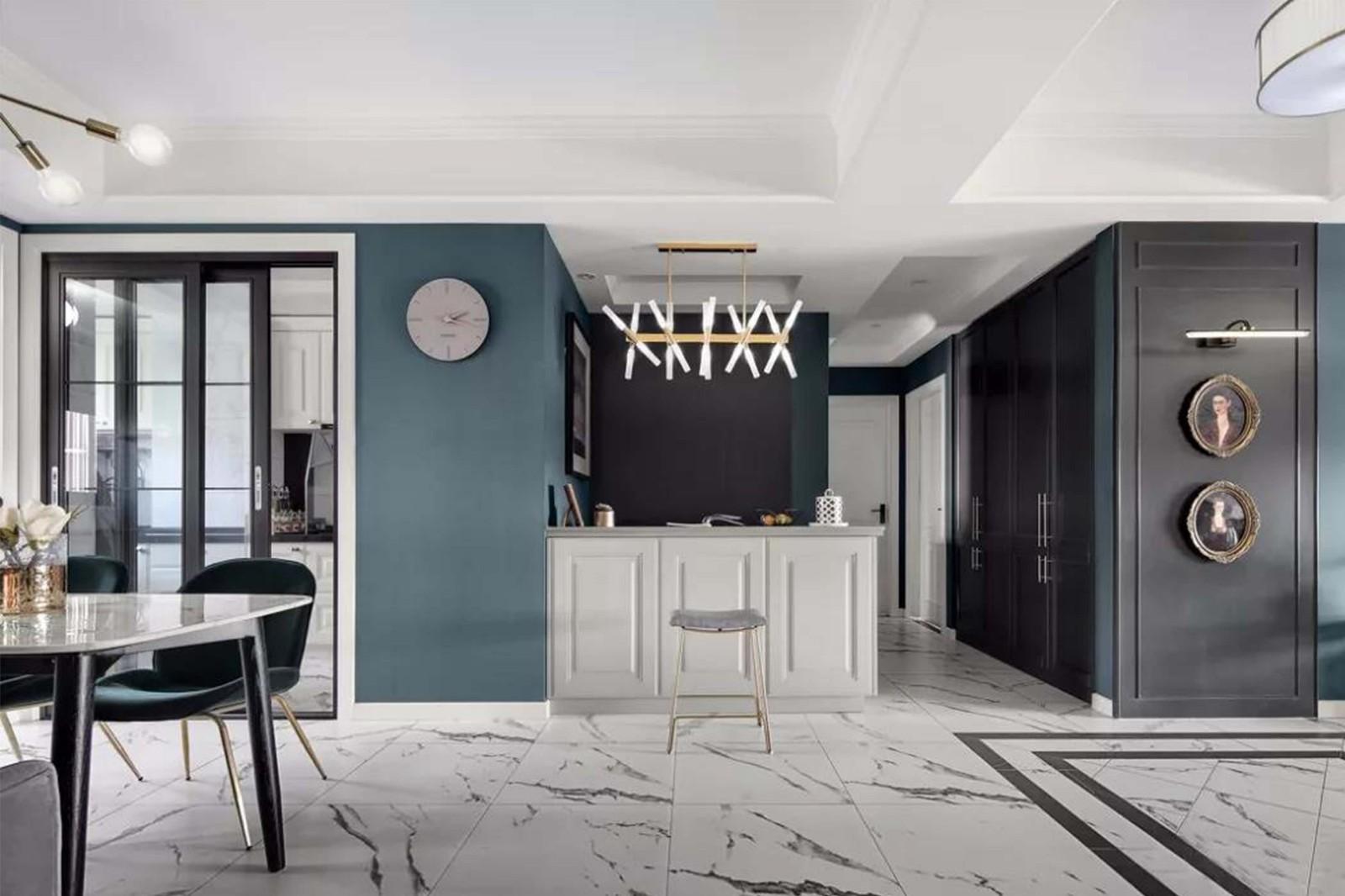 138平現代輕奢風格二居室裝修效果圖
