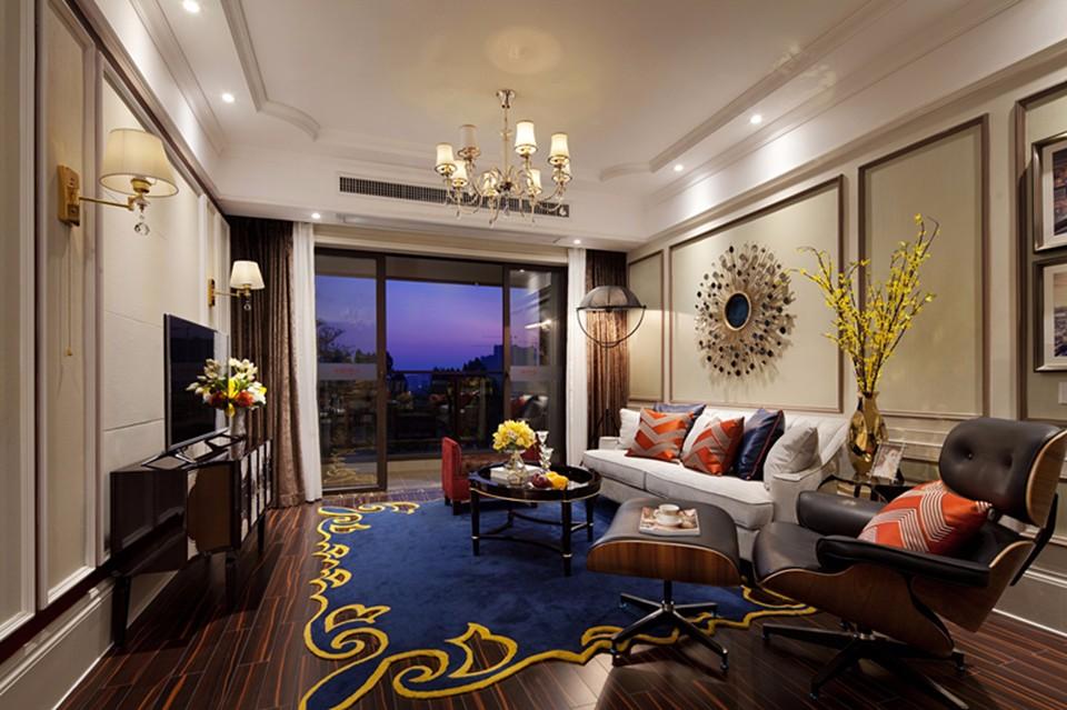 3室1衛2廳120平米歐式風格