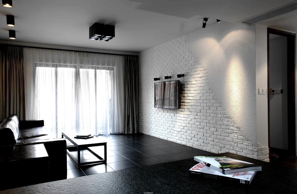 1室1卫2厅88平米现代简约风格