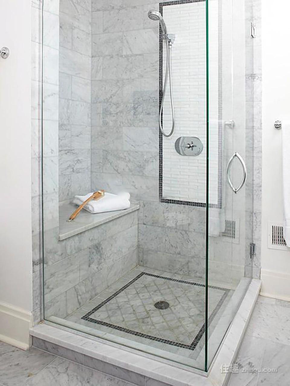 2020現代簡約浴室設計圖片 2020現代簡約淋浴房設計圖片