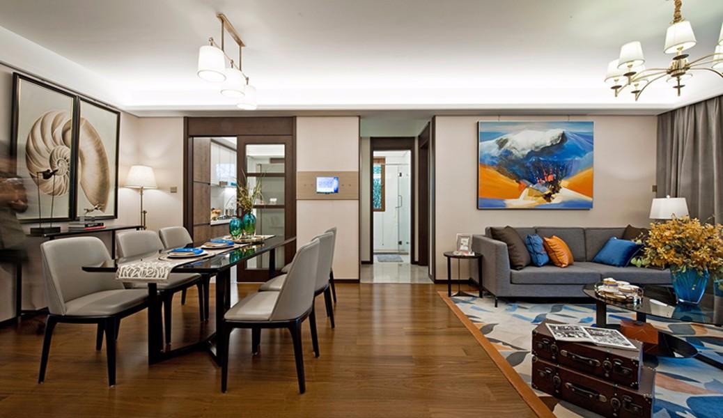3室2卫2厅108平米简约风格