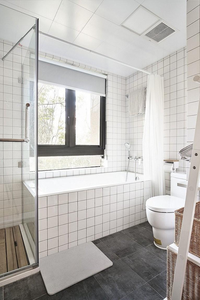 2019法式浴室设计图片 2019法式浴缸装修效果图大全