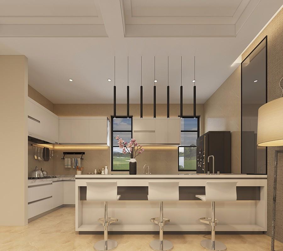 2021现代中式厨房装修图 2021现代中式细节装修图片