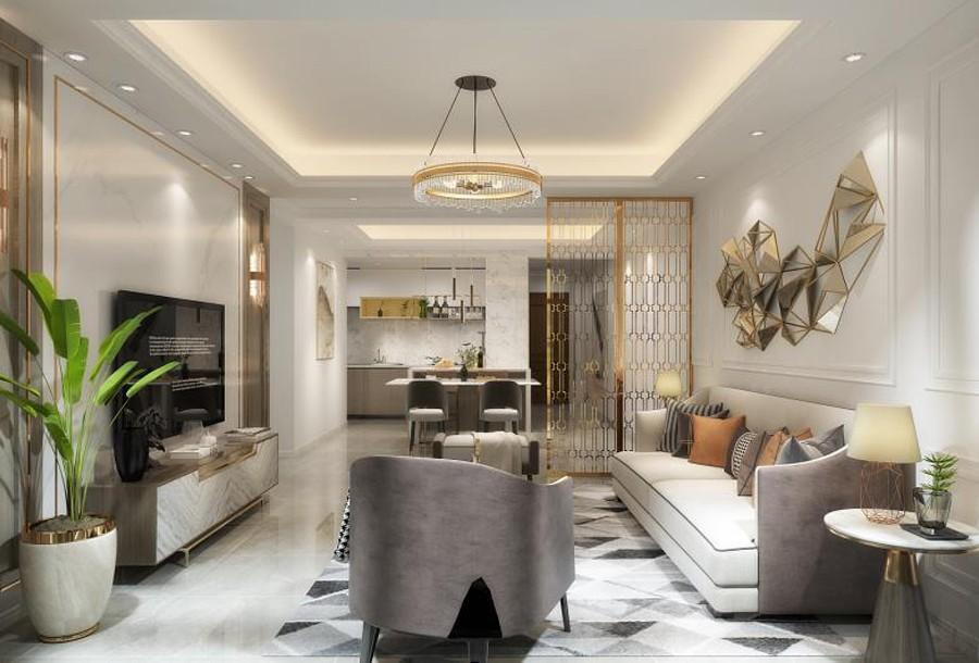 3室2卫2厅130平米现代简约风格