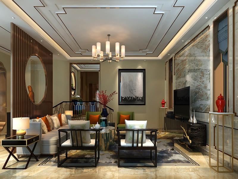 2021新中式酒窖装修设计图片 2021新中式地砖装饰设计