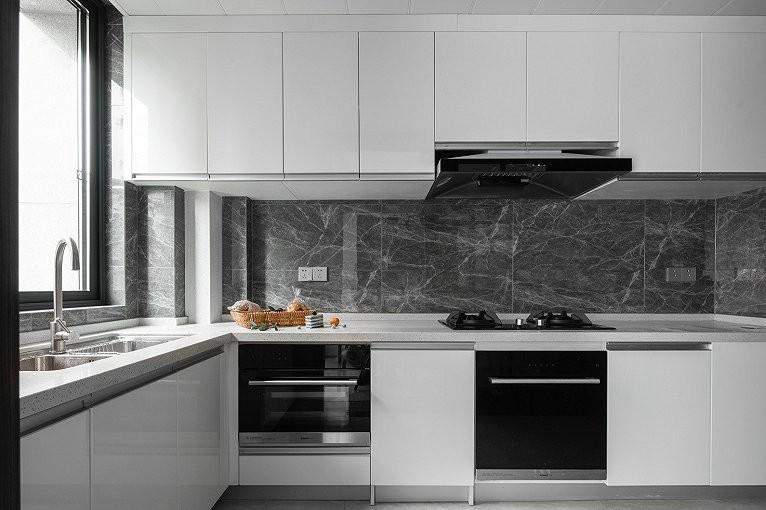 2019现代厨房装修图 2019现代灶台装修图片