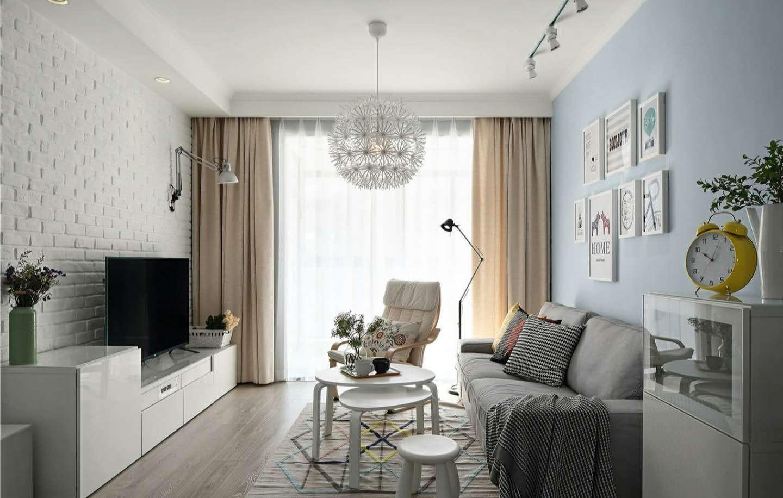 2室1卫1厅85平米北欧风格