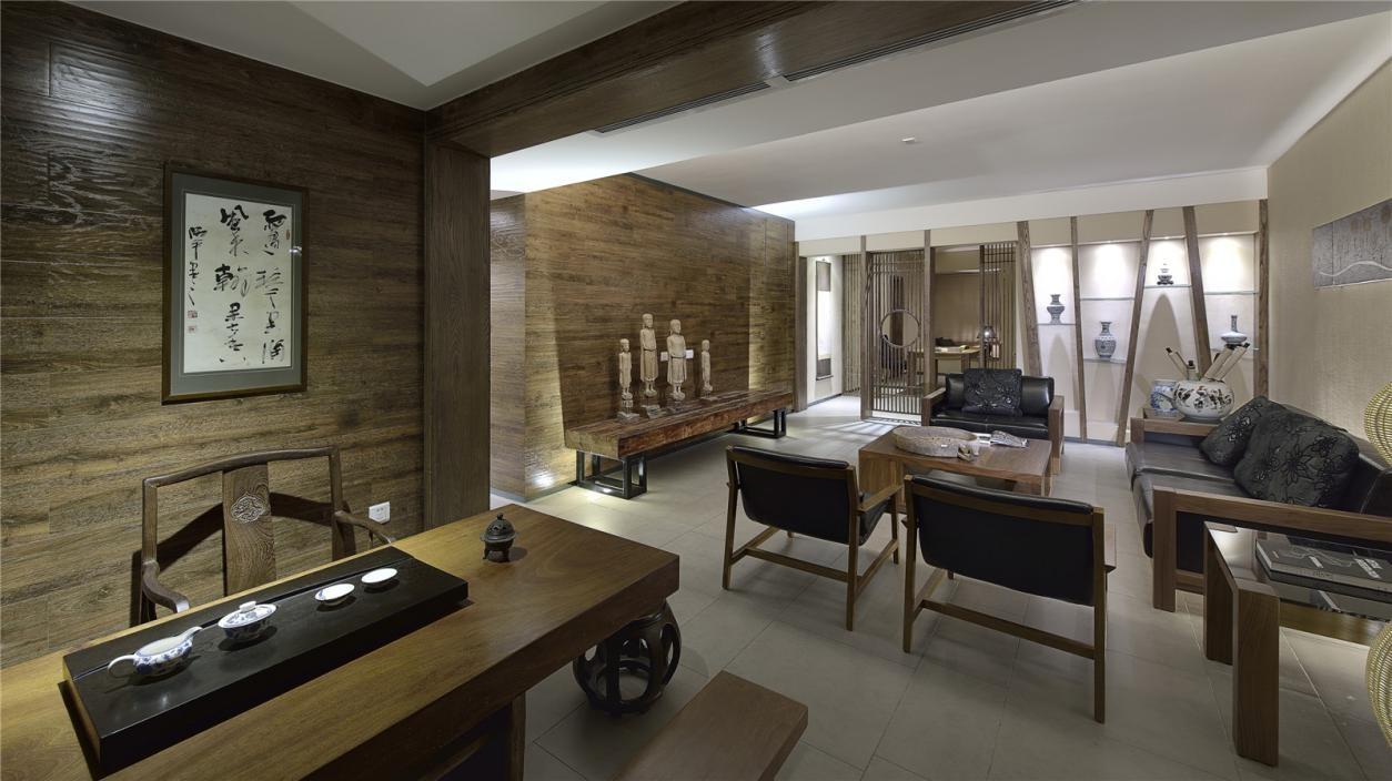 3室2卫2厅149平米中式风格