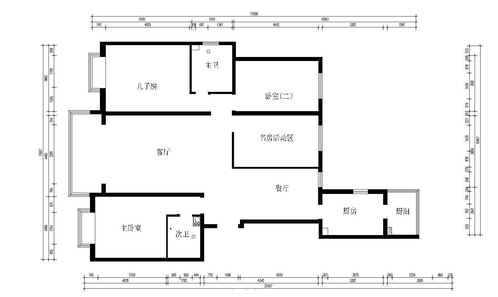 2019中式花园设计图片 2019中式走廊效果图