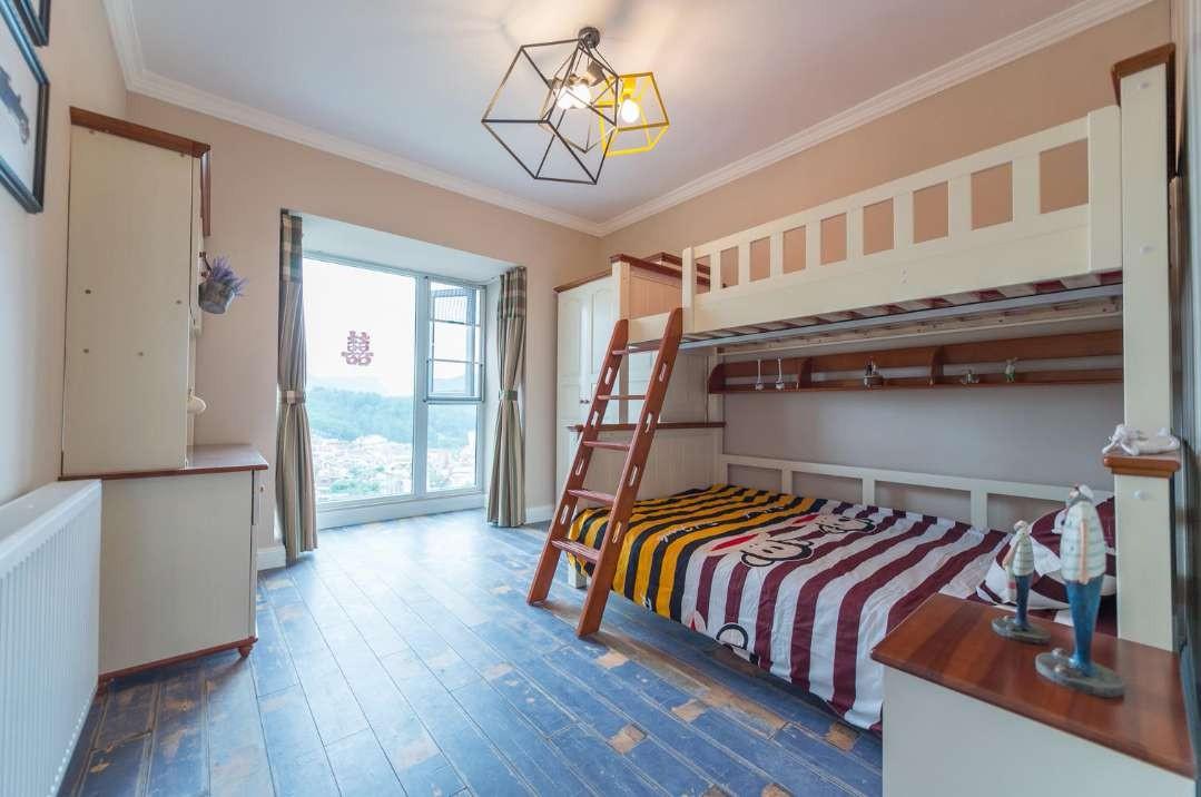 宜良花城警苑150平美式三室二廳效果圖