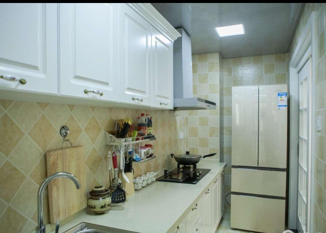 2020欧式厨房装修图 2020欧式灶台装修图片