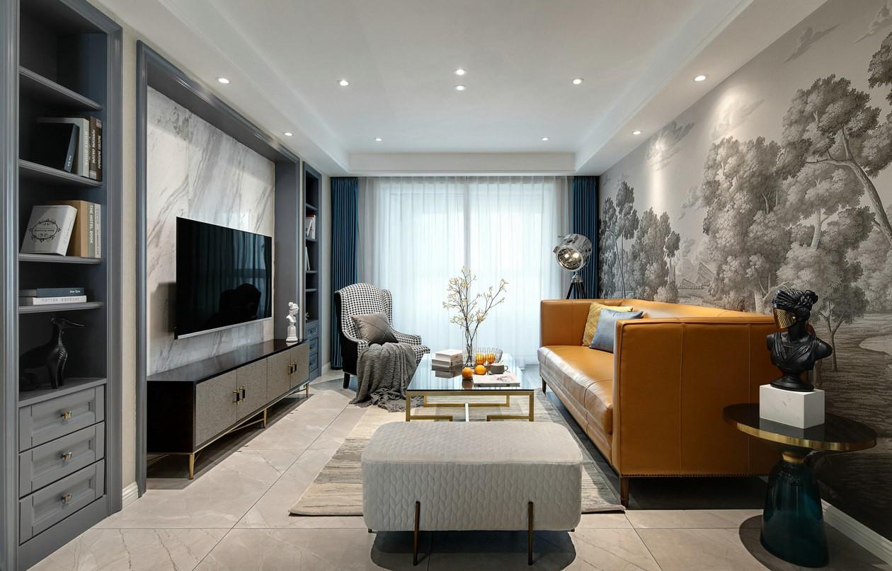 3室1卫2厅135平米混搭风格