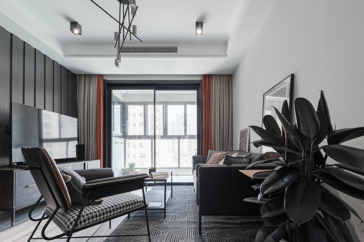 2室1卫2厅90平米后现代风格