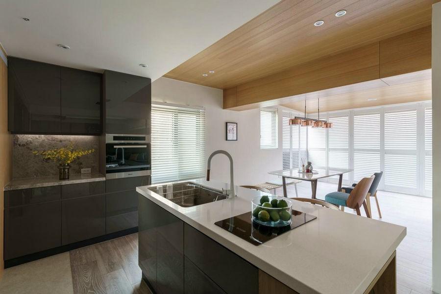 2021现代简约240平米装修图片 2021现代简约二居室装修设计