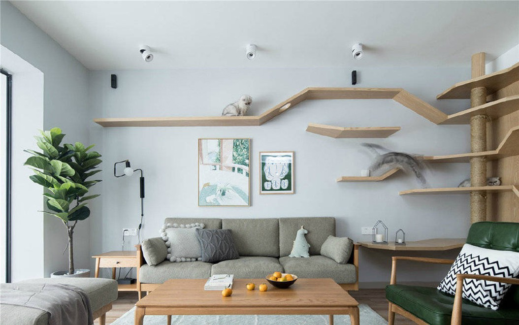 4室2卫2厅145平米简约风格