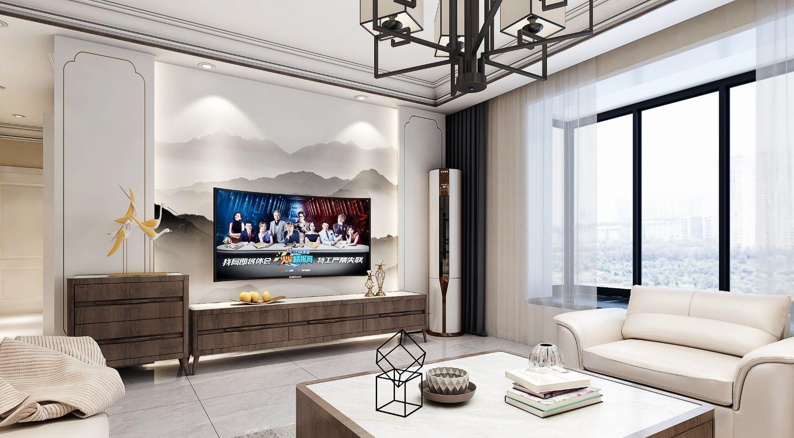 聚金雅园110㎡现代简约风格3室2厅1卫图片
