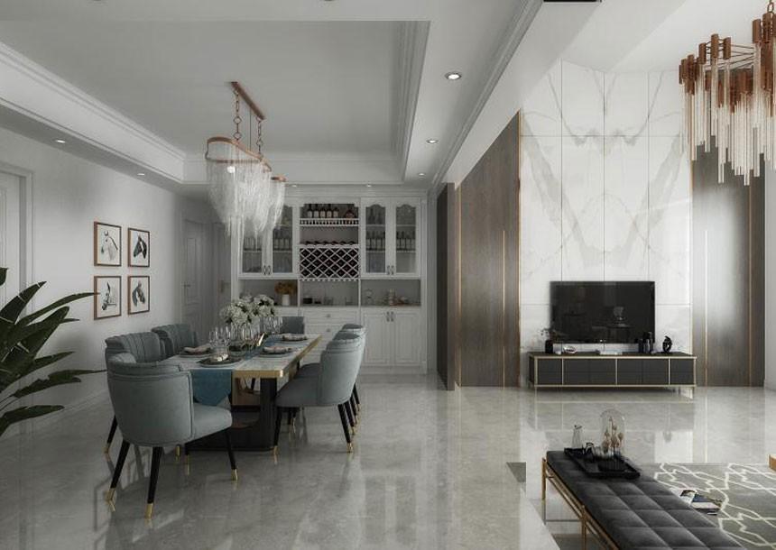 4室2衛2廳168平米美式風格