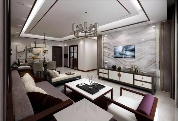 2020新中式110平米装修设计 2020新中式楼房图片