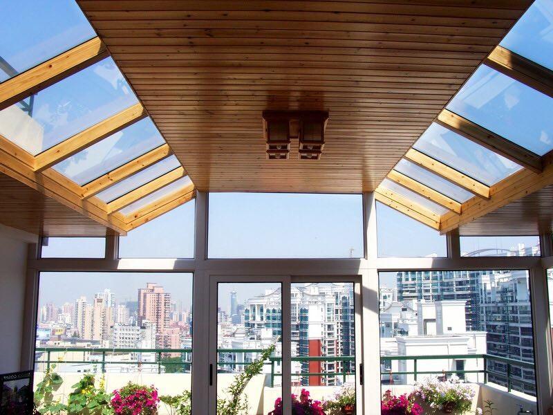 2020美式阳光房设计图片 2020美式吊顶装修图片