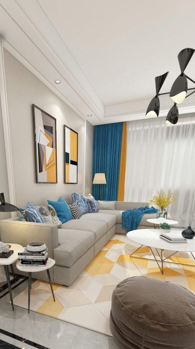東湖小區雅居145平米套房現代簡約設計