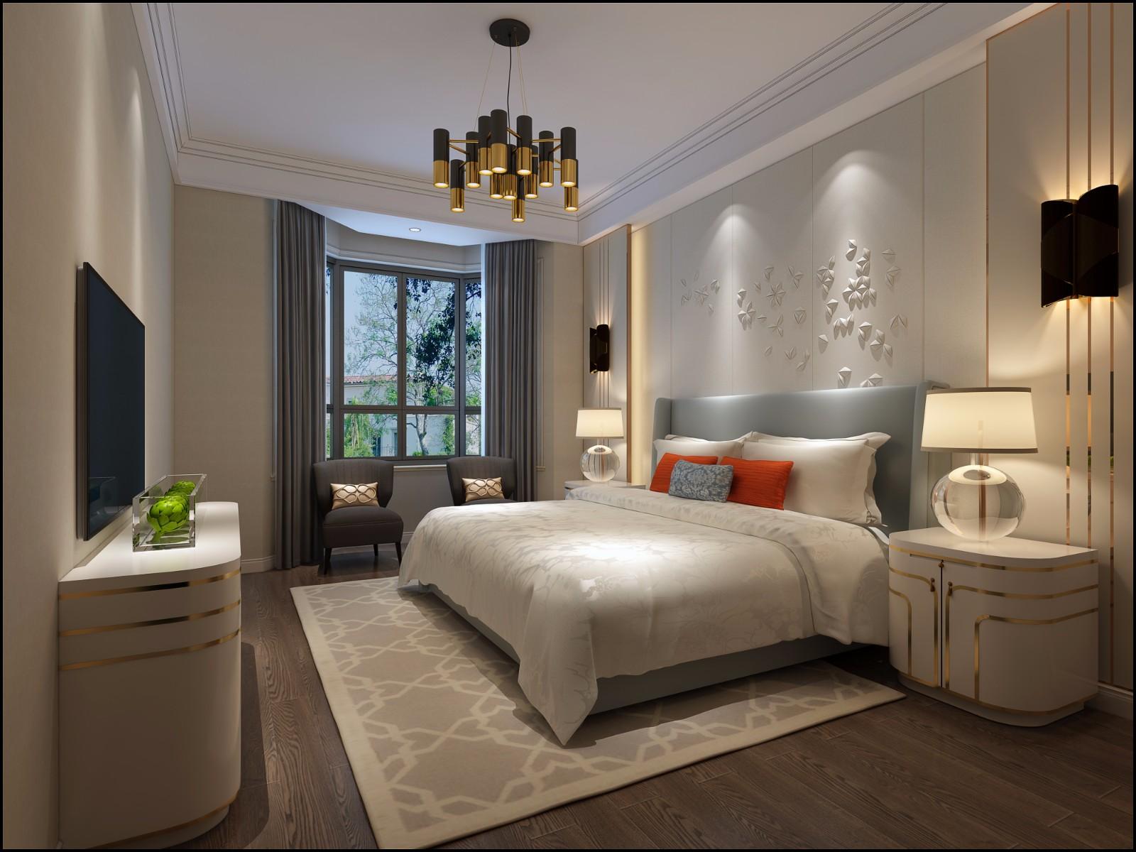 2019現代300平米以上裝修效果圖片 2019現代別墅裝飾設計