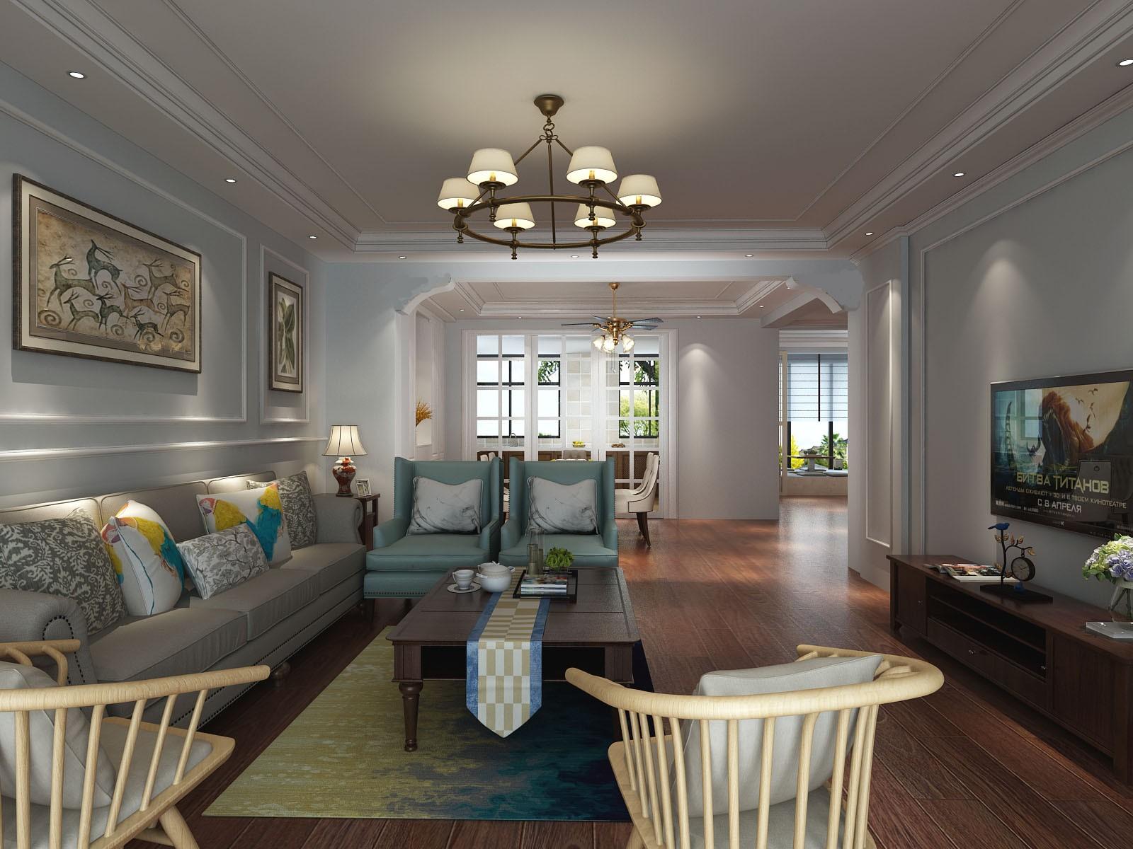 4室2衛2廳260平米現代簡約風格