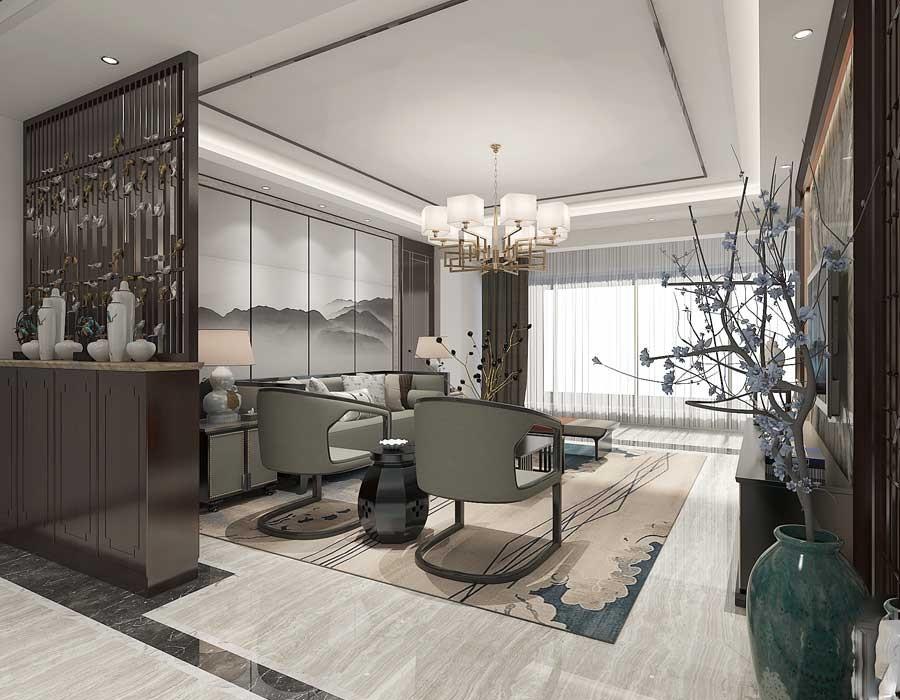 4室2卫2厅169平米中式风格