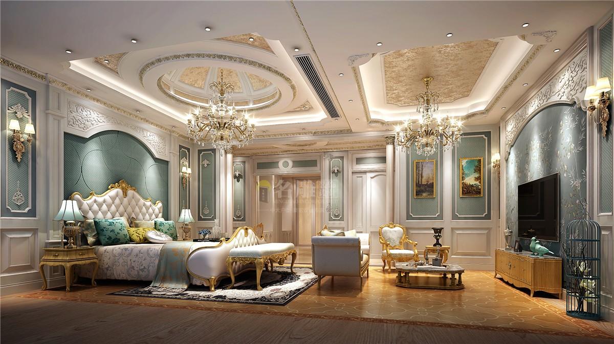 175平歐式風格四居室臥室裝修效果圖
