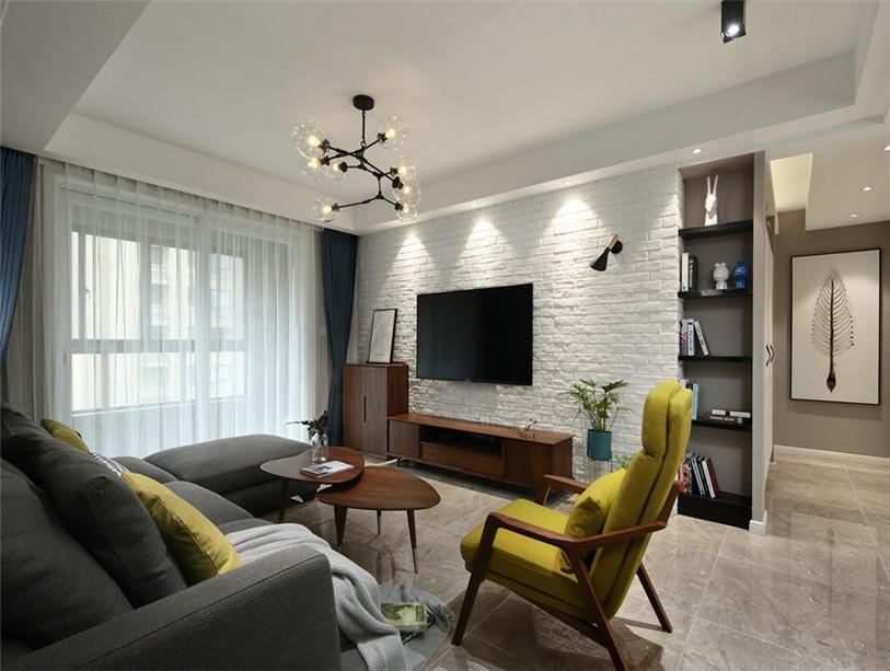 3室1卫2厅95平米简约风格