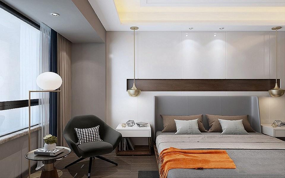 120平混搭简约风格四室两厅装修效果图