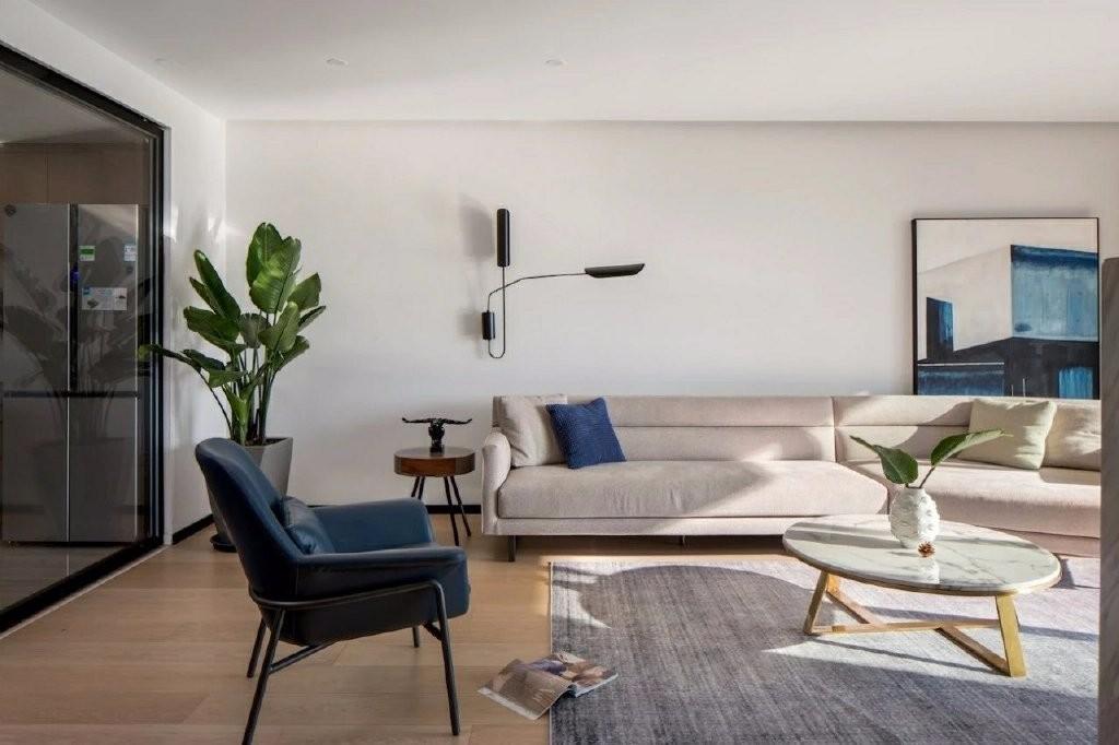 2021现代简约150平米效果图 2021现代简约二居室装修设计